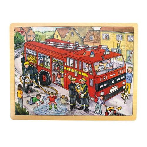 Puzzle Wóz strażacki 24 elementów (0691621087428)