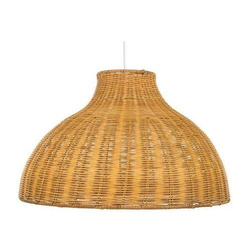 Lampa wisząca rattanowa jasne drewno MILLIAN (4260624119199)