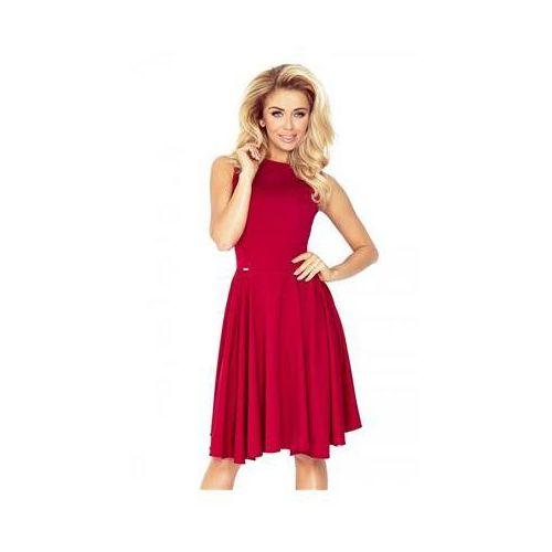 Sukienka Model 98-9 Bordo, kolor czerwony