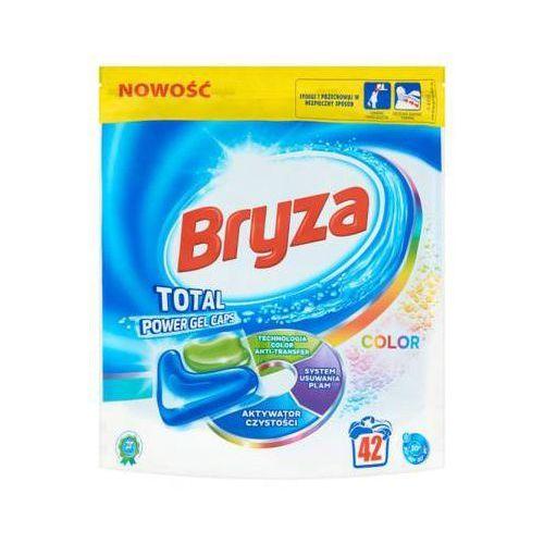 Bryza 42szt total power gel caps kapsułki do prania kolorowych tkanin (42 prania) marki Reckitt benckiser