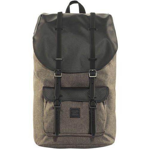 Herschel little america plecak brązowy/czarny 2018 plecaki szkolne i turystyczne (0828432188703)