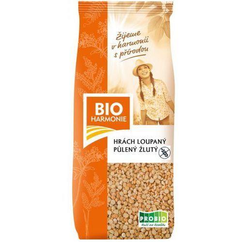 Groch łuskany żółty połówki bio 500g-  marki Bioharmonie