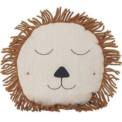 Poduszka safari lew beżowa marki Ferm living