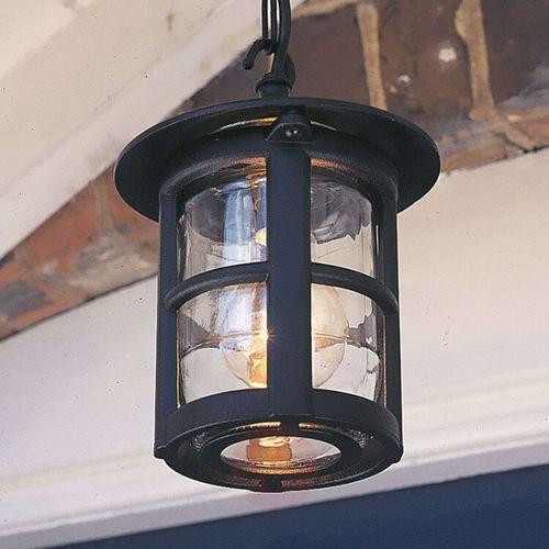 Lampa wisząca HEREFORD BL21B BLACK IP43 - Elstead Lighting - Rabat w koszyku