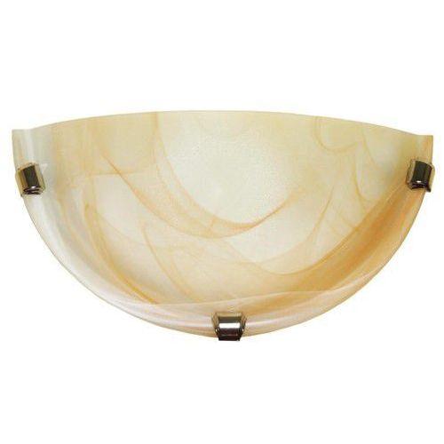 k1 duna 210/k1 st kinkiet lampa ścienna 1x60w e27 bursztynowy / patyna marki Lampex