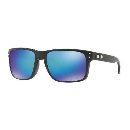 Oakley Okulary holbrook matte black prizm sapphire polarized oo9102-f055
