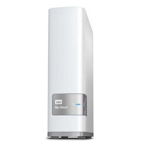 Western digital 2 tb my cloud wdbctl0020hwt-eesn osobisty serwer plików, lan, biały 6 tb