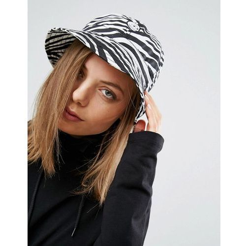 Cheap Monday Bucket Hat in Zebra Print - Multi