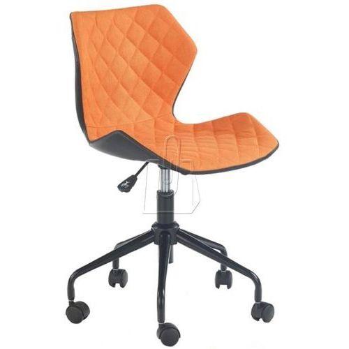 Fotel młodzieżowy Halmar Matrix pomarańczowy - gwarancja bezpiecznych zakupów - WYSYŁKA 24H, kolor pomarańczowy