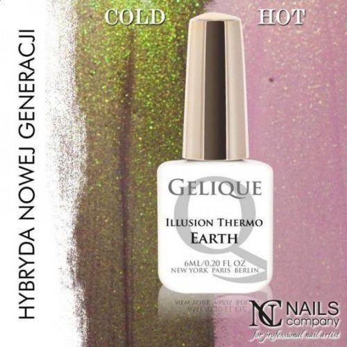 Nc nails company Nails company gelique illusion thermo earth 6ml - żel hybrydowy