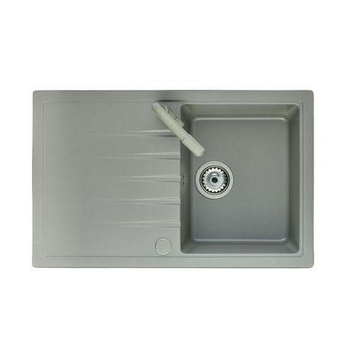 Zlewozmywak granitowy z baterią LOTUS INPERO (5903240513512)