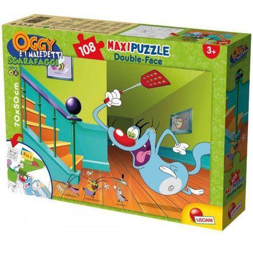Puzzle dwustronne 2w1 supermaxi 108 Oggy i karaluchy (8008324052844)