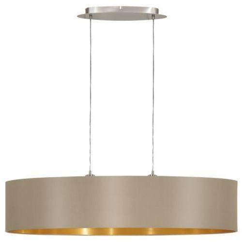 Eglo Lampa wisząca maserlo ciemnoszara 100 cm, 31618