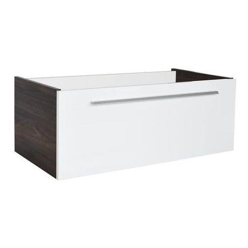 Yega 80 szafka pod umywalkę FACKELMANN 74003 - Biały wysoki połysk \ 80 cm