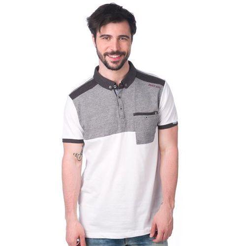 Brave Soul koszulka polo Dorne S biały