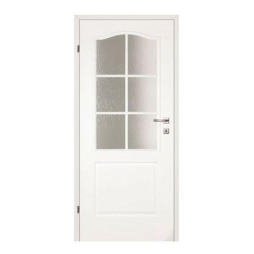 Drzwi pokojowe classic 80 lewe biały lakier marki Classen