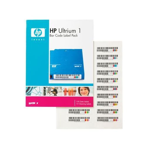 HP Ultrium 1 Bar Code Label Pack Q2001A, Q2001A