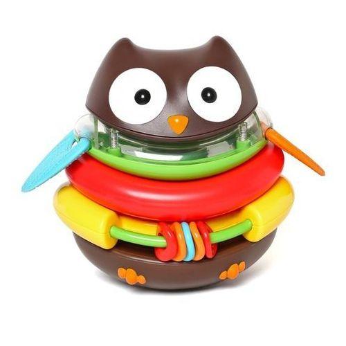 Zabawka edukacyjna Nakładanka Sowa Skip Hop