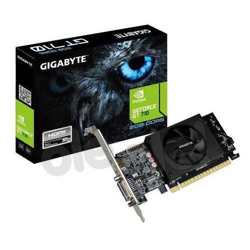 Gigabyte geforce gt 710 2gb ddr5 64bit - produkt w magazynie - szybka wysyłka! (4719331301606)