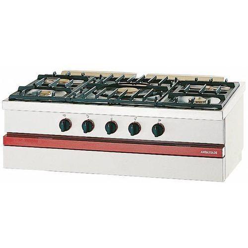 Bartscher Kuchnia gazowa 5 palników | 16500w. Najniższe ceny, najlepsze promocje w sklepach, opinie.