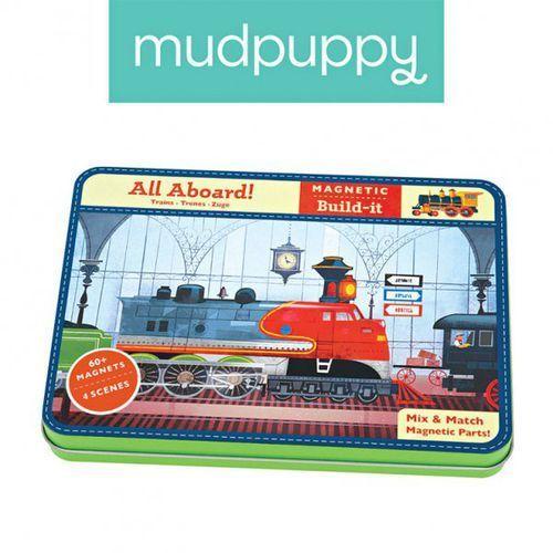 magnetyczne konstrukcje pociągi 6+ marki Mudpuppy