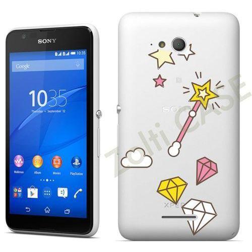 Etui dla Sony Xperia E4g - Różdżka - i26