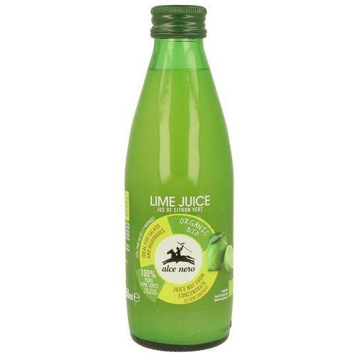 Alce nero (włoskie produkty) Sok z limonki bio 250 ml - alce nero (8009004811959)