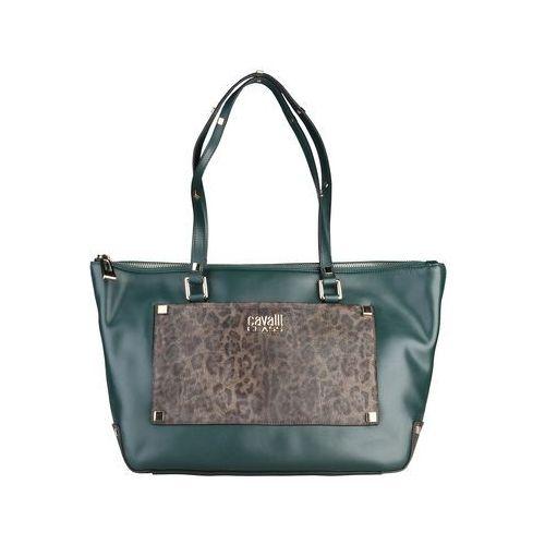 Torebka shopper damska CAVALLI CLASS - Tilda-45, kolor zielony