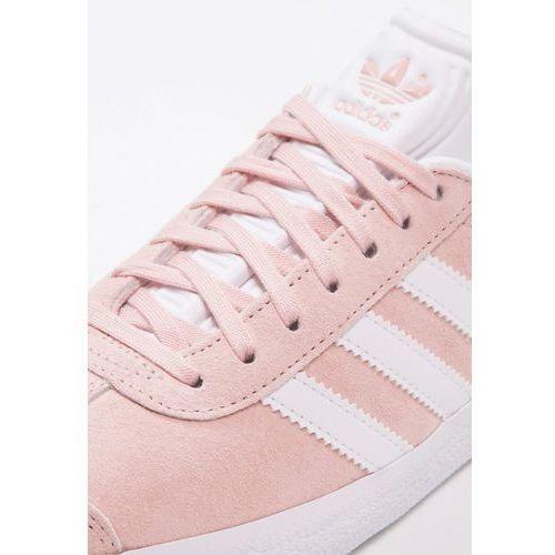 adidas originalsgazelle tenisówki i trampki vapour pink white gold metallic