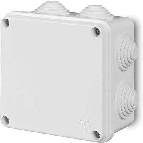 elektro-plast nasielsk Puszka natynkowa pk-5 hermetyczna ip55 133x133x83 biała 0252-00 ep-lux elektro-plast