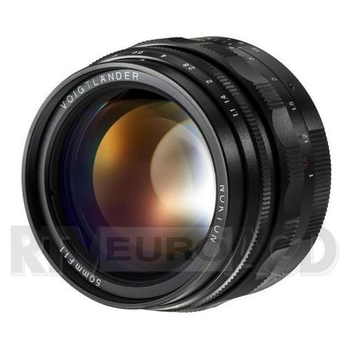 nokton 50 mm f/1.1 / leica m marki Voigtlander