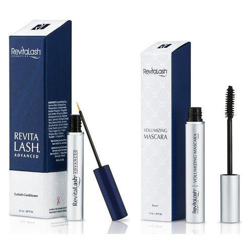 zestaw | eyelash conditioner advanced 2,0ml + volumizing mascara 7,39ml marki Revitalash