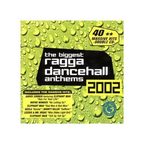 Różni wykonawcy - biggest ragga dancehall anthems 2002, the wyprodukowany przez Greensleeves
