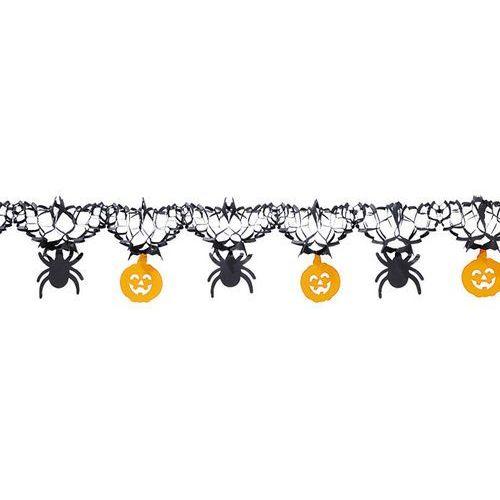 Girlanda na halloween dynie i pająki - 1 szt. marki Carnival