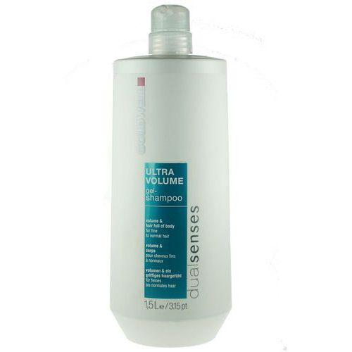 ultra volume, ultra delikatny szampon w żelu do włosów cienkich 1000ml marki Goldwell