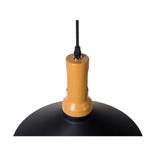 Lampa wisząca czarno-złota SEPIK