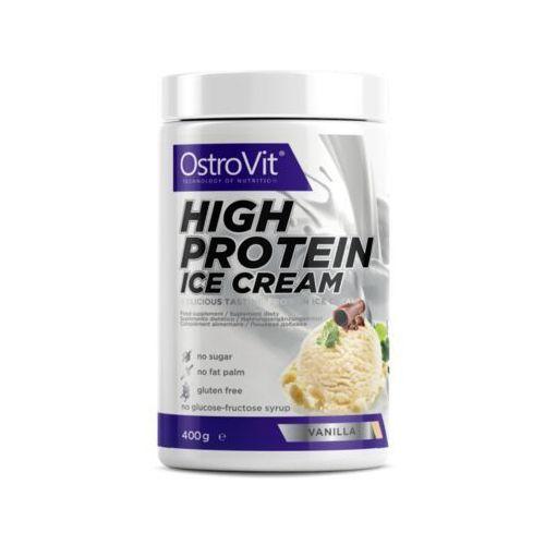 Ostrovit high protein ice cream - 400g - dark chocolate (5902232613582)