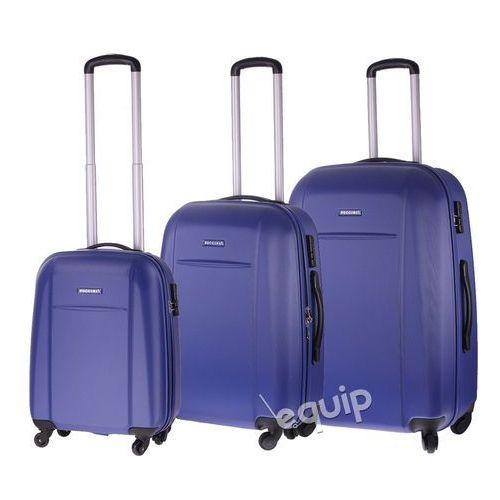 Zestaw walizek Puccini ABS02 - niebieski