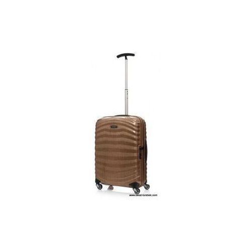 SAMSONITE średnia walizka S z kolekcji LITE-SHOCK 4 koła zamek szyfrowy z systemem TSA wykonane z materiału w opatentowanej technologii Curv
