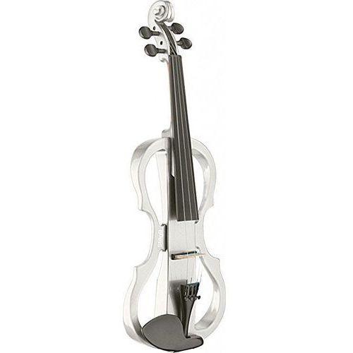 Stagg EVN X 4/4 WH skrzypce elektryczne, komplet, kolor biały