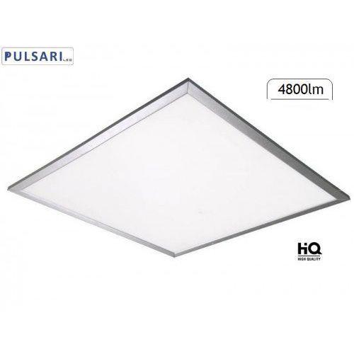Pulsari Panel led 40w 60x60 cm 4800lm srebrny do sufitów modułowych