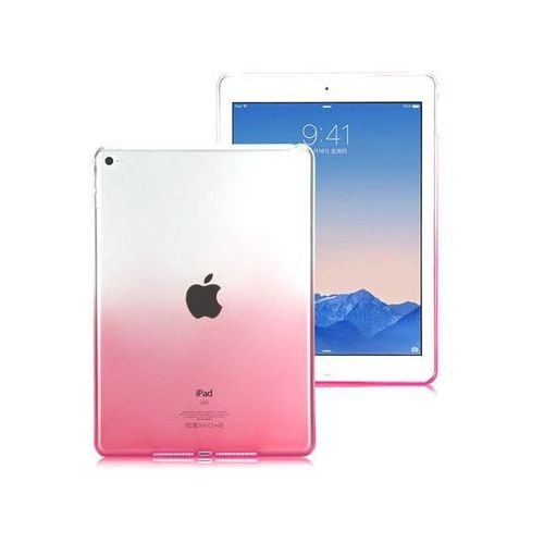 Etui ombre case apple ipad air 2 różowe + szkło 9h - różowy marki Alogy