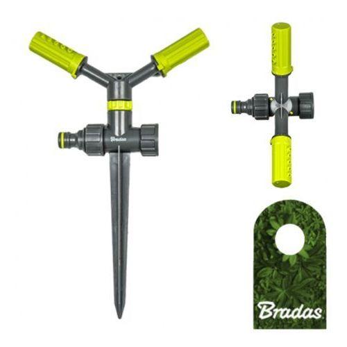 Bradas 2-ramienny zraszacz obrotowy na kolcu lime line le-6106 4475 (5907544424475)