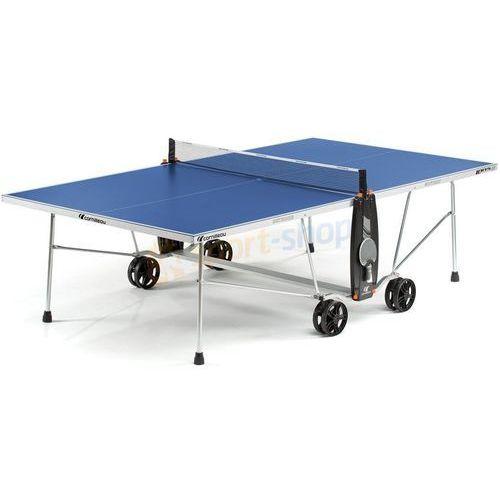 Cornilleau Stół tenisowy sport 100s crossover outdoor (niebieski)