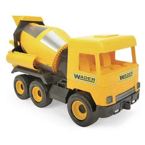 auto middle truck domíchávač žlutý marki Wader