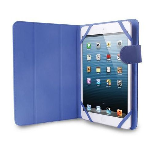 PURO Universal Booklet Easy - Etui tablet 7'' w/Folding back + stand up + Magnetic Closure (granatowy) (8033830147388)