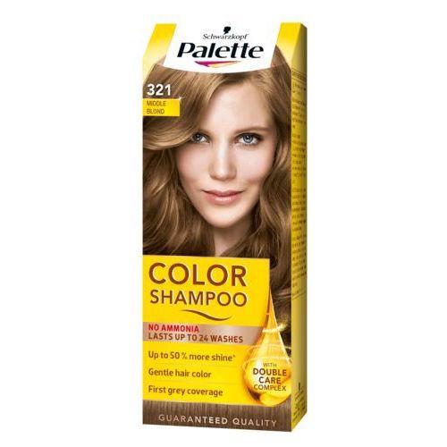 Szampon koloryzujący Palette Color Shampoo 321 Średni blond, kolor blond