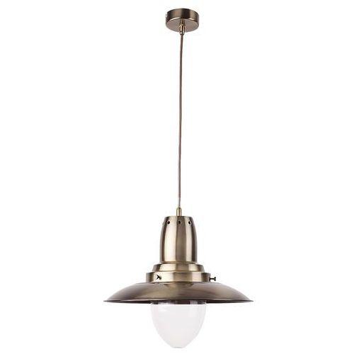 Lampa wisząca zwis oprawa Rabalux Bonnie 1x60W E27 brązowa 2595, 2595