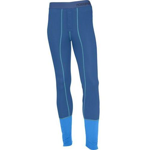Norrøna Super Longs Bielizna dolna Mężczyźni niebieski S 2018 Spodnie termiczne długie, kolor niebieski