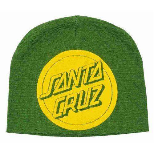 czapka zimowa SANTA CRUZ - Reverse Dot Beanie Mint Green (MINT GREEN) rozmiar: OS